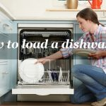 How to load a dishwasher diagram with utensils properly