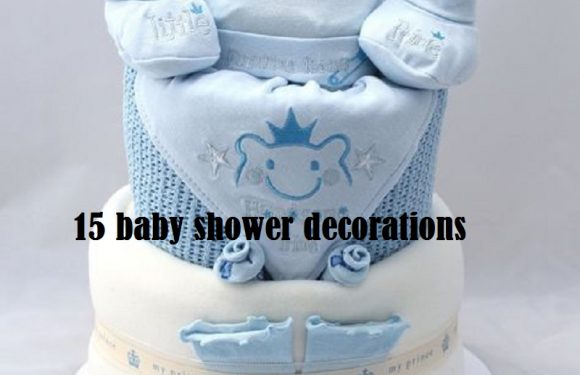 15 beautiful baby shower decorations that you can make yourself