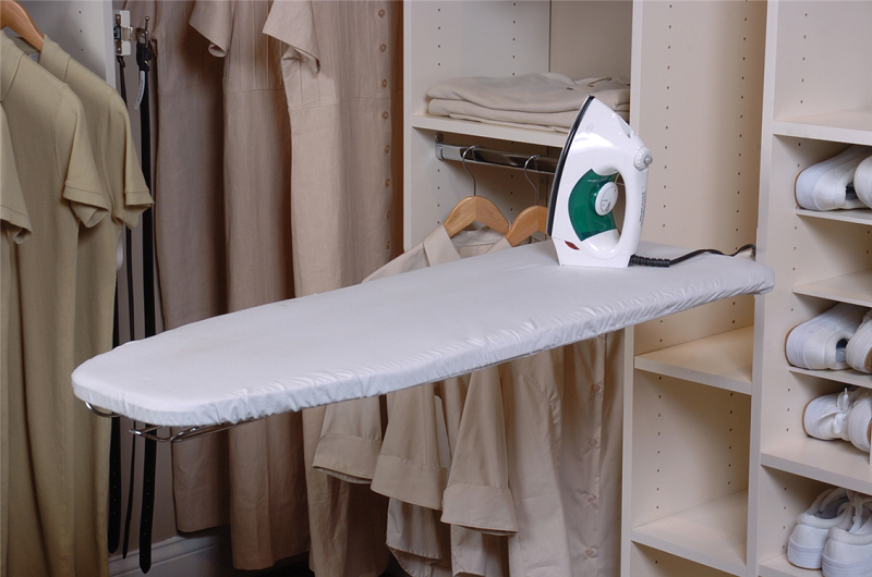 Modern ironing board cabinet