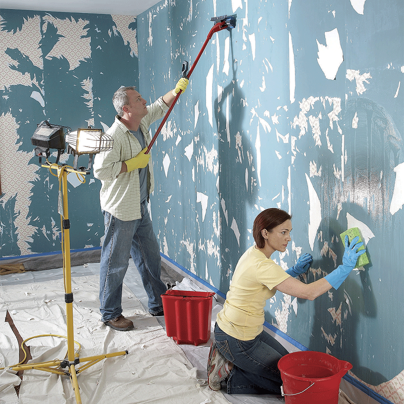 How to remove wall paint