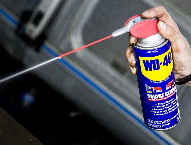 Use WD-40