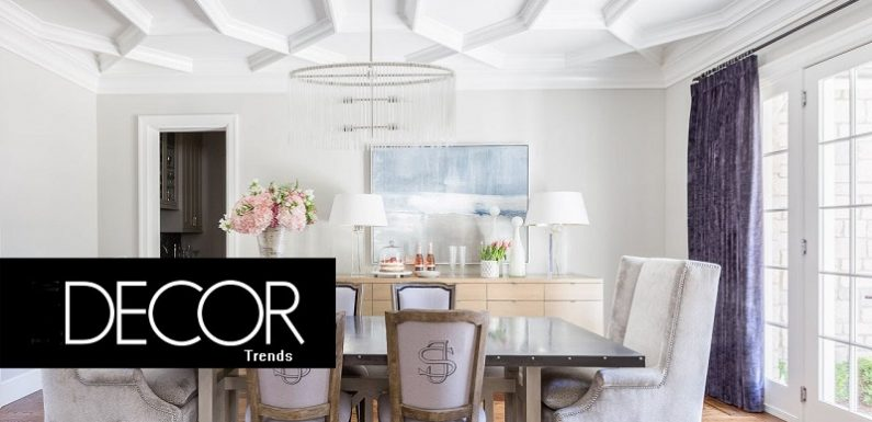 Decor trends that will devastate next season