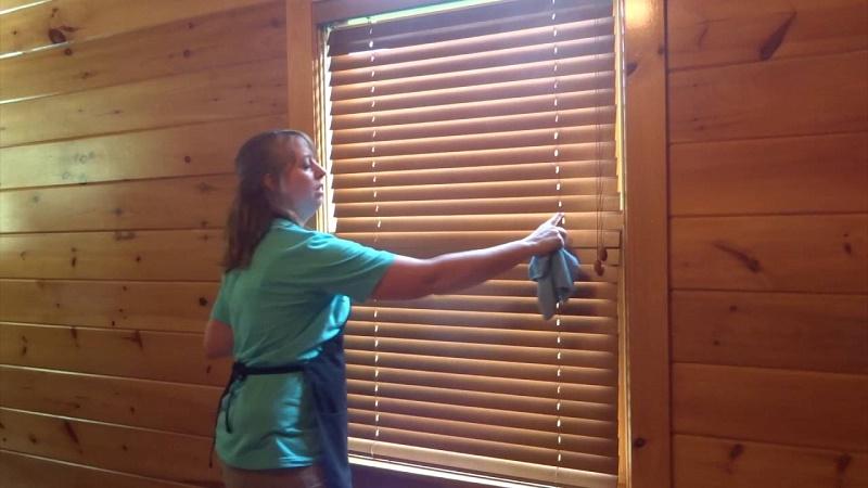 clean wooden windows