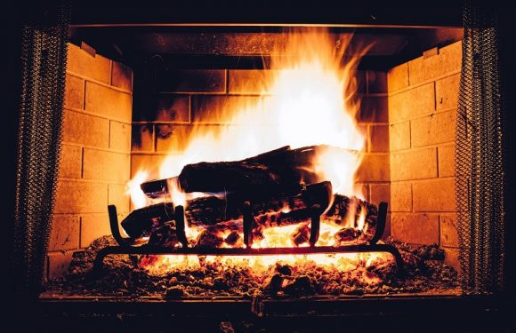 How to build a stone fireplace for a cabin? Step by step