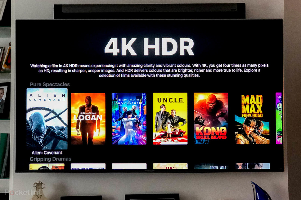 4k tv HDR