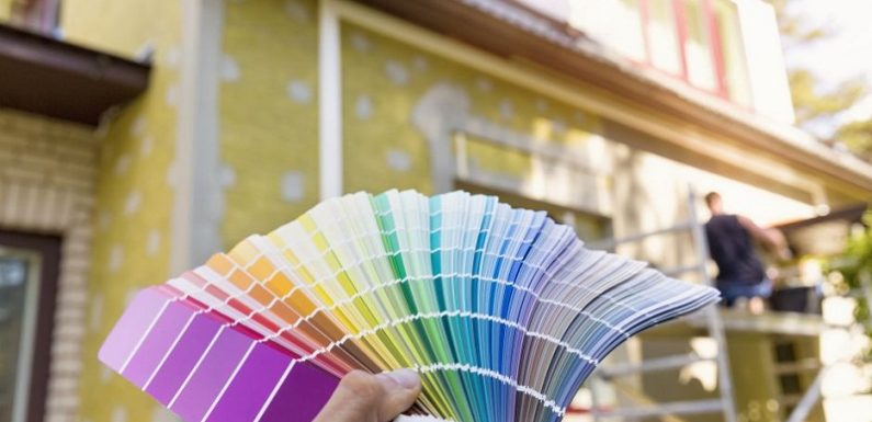 How to choose exterior house colors? Selection process