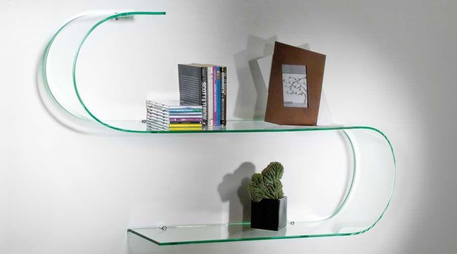Curved shelf