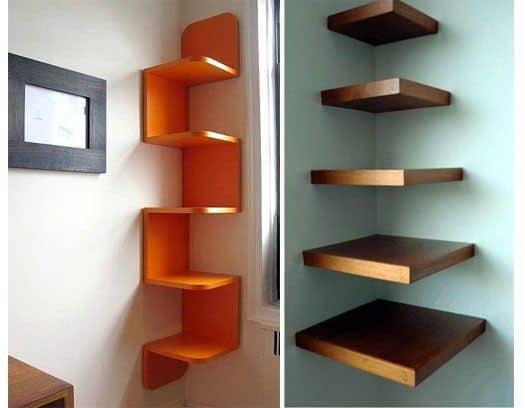 Do not place the shelf too high