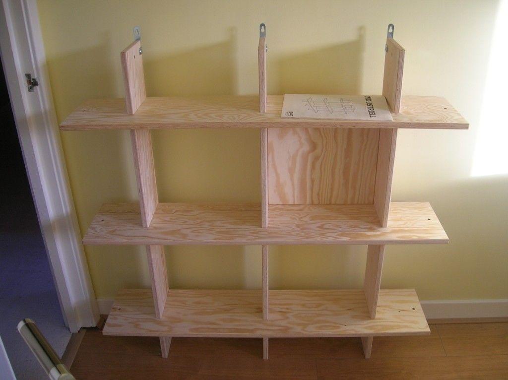 assembled shelf