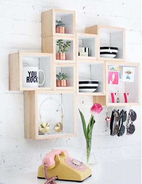 classic and stylish shelf