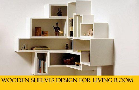 15 Modern And Appealing Shelves Design For Living Room