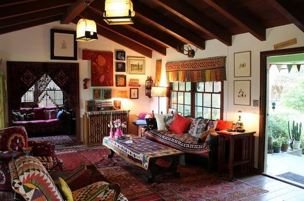 Tips to get a boho chic style of decoration