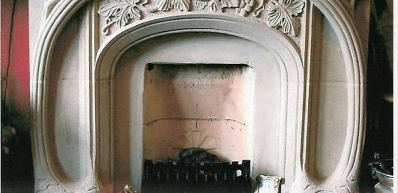 Fireplaces of different eras
