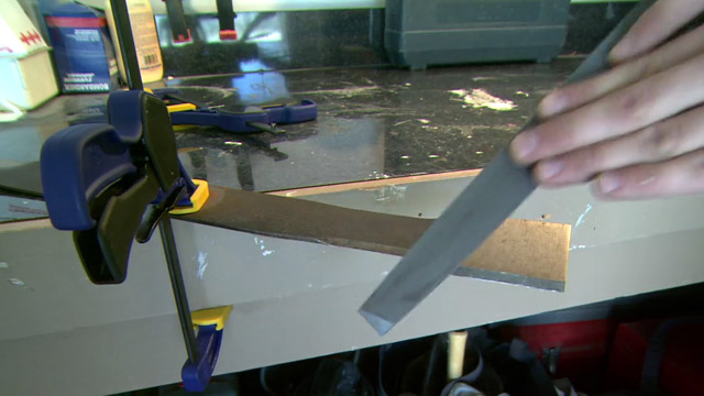 Sharpen blades by hand