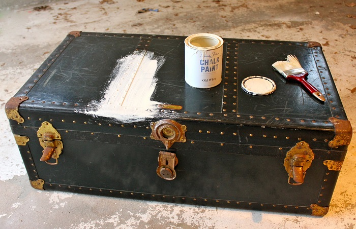 Paint and finish the application