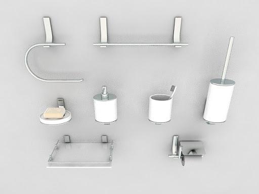 Chrome Toilet Accessories