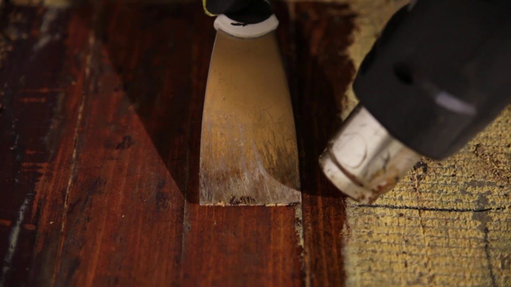How to remove glue from wood