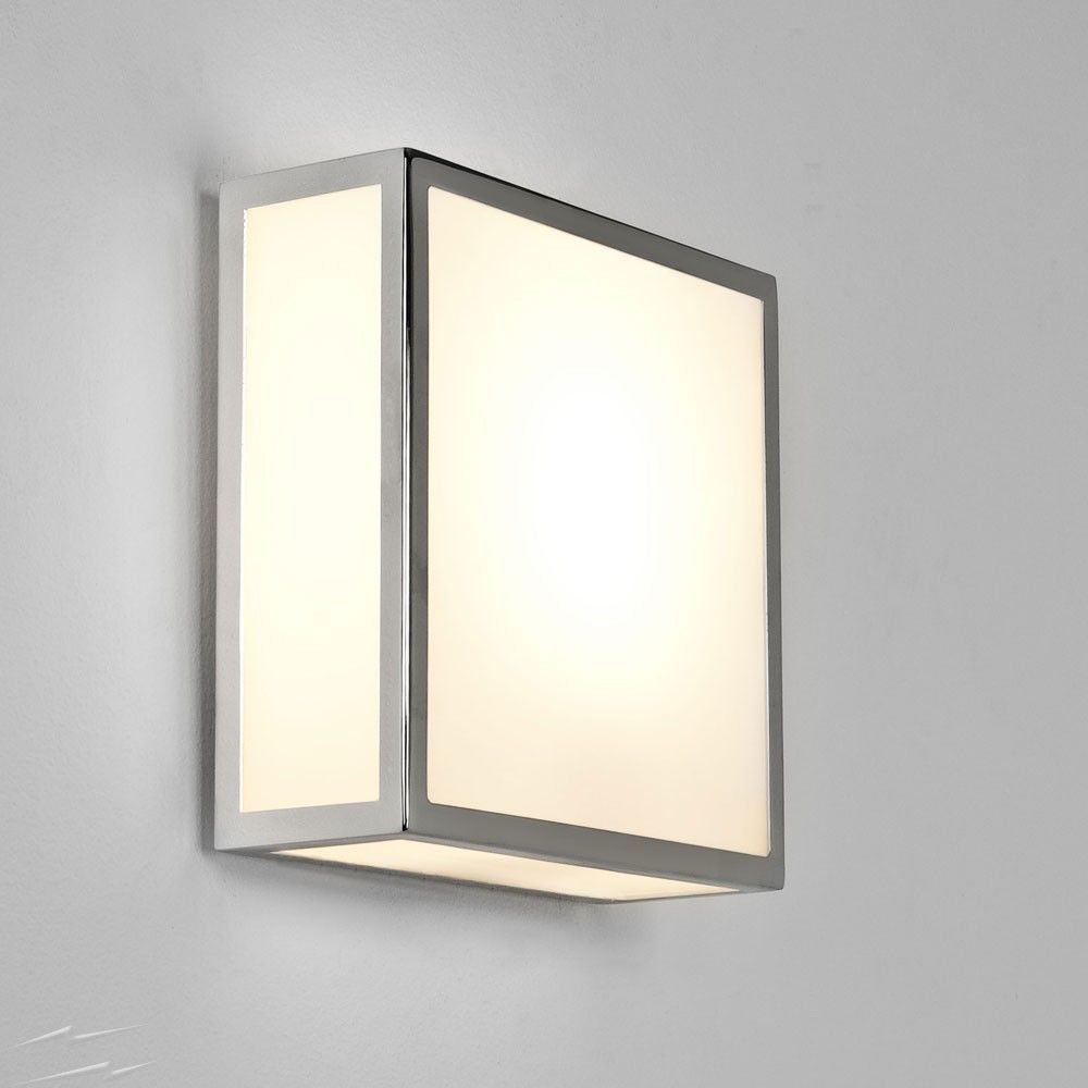 Square Bathroom Light Fixtures