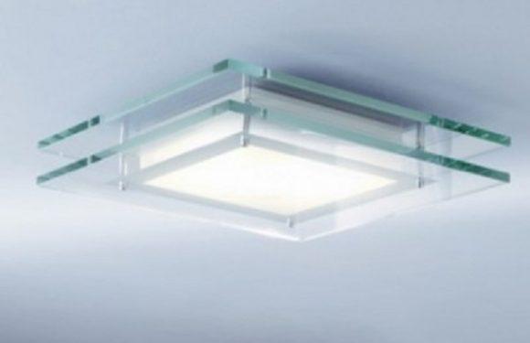 Square Bathroom Light Fixtures