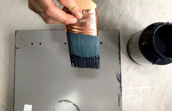 Paint for melamine: How to apply the paint in the melamine furniture