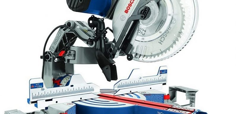 BOSCH GCM12SD Review