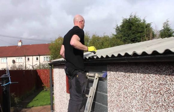 How to reroof a garage