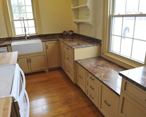 low window in kitchen