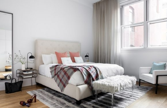 How to Redesign Your Bedroom on a Budget – for more space and functionality