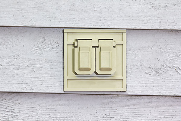 Why is my outdoor outlet not working?