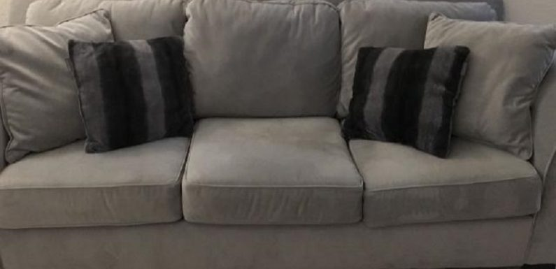 How to clean suede couch cushions?